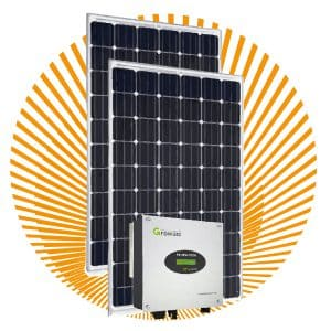 Set Power zonnepanelen