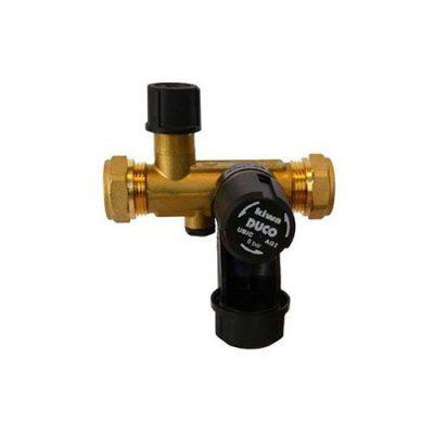 tapwater inlaatcombinatie