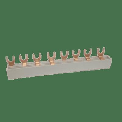 Kamrail 4 polig 2-voudig